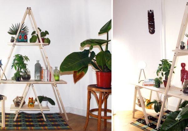 Tutoriel Fabriquez Une Etagere Echelle Pour Vos Plantes