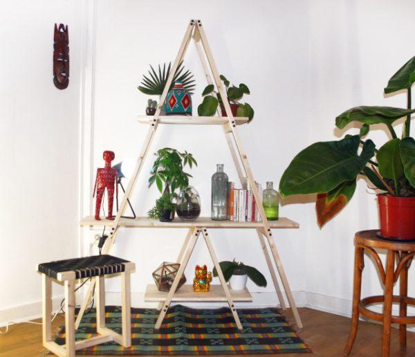 DIY : Fabriquez une étagère échelle pour mettre en valeur vos plantes