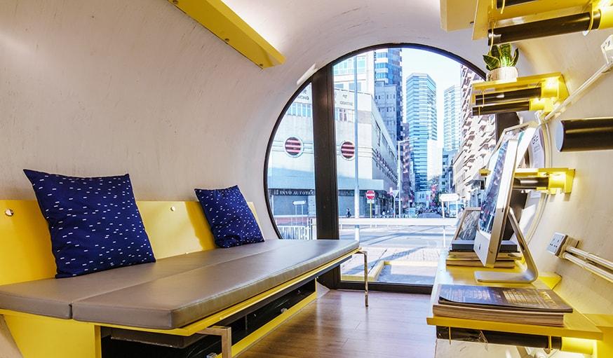 hong kong des appartements moins chers dans des tubes en b ton. Black Bedroom Furniture Sets. Home Design Ideas