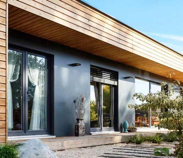 Madi la maison pliable en forme de triangle qui se for Maison prefabriquee kit