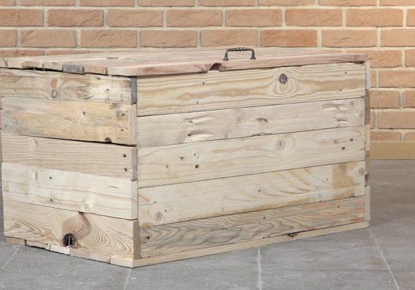 Tuto Fabriquez Un Coffre De Rangement En Palette Pour 20 Euros