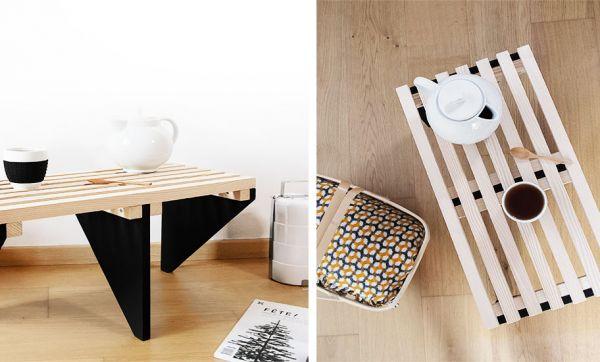 Tuto : Fabriquez une table basse tendance scandinave et japonaise