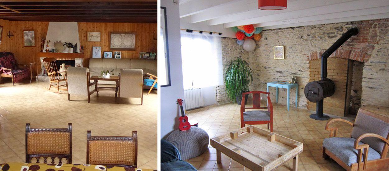 r novation cologique ils ont r nov leur maison en mode. Black Bedroom Furniture Sets. Home Design Ideas