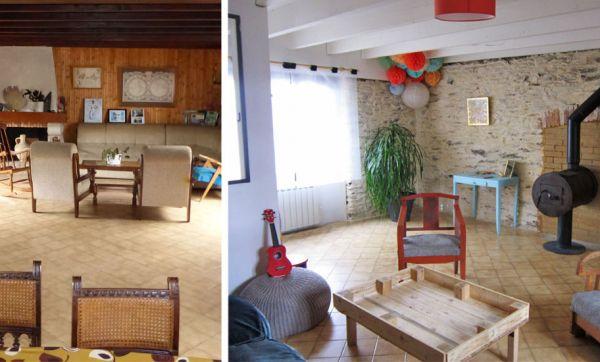 Avant / Après : Ils ont rénové toute leur maison dans une démarche zéro déchet
