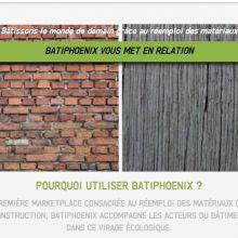 Batiphoenix a trouvé la solution pour arrêter de jeter des matériaux de construction encore en état !