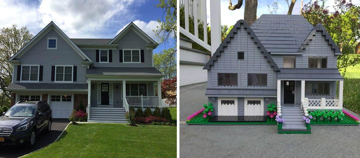 Cette artiste peut reproduire à la perfection votre maison en LEGO