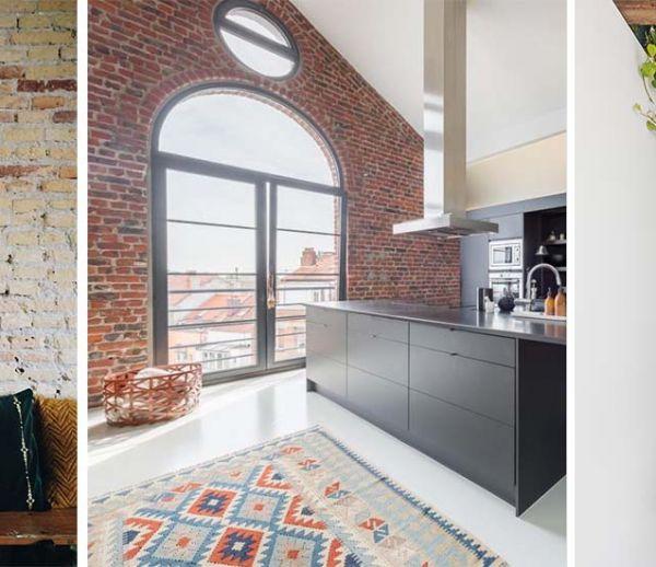 8 murs magnifiques en briques qui vont vous donner l'envie d'en installer chez vous