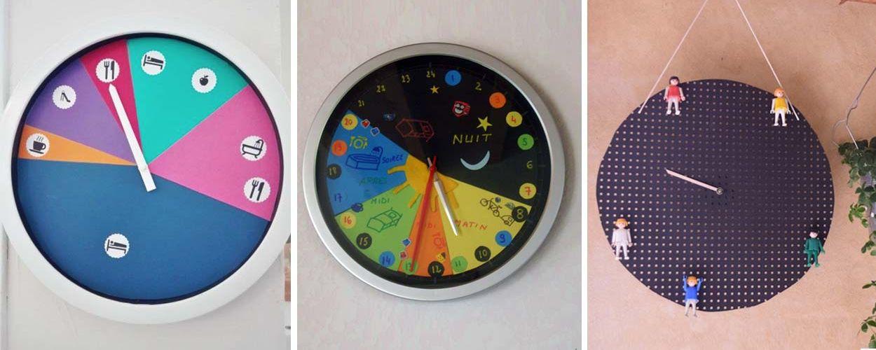 Montessori : ces horloges aident vos enfants à se repérer dans le temps