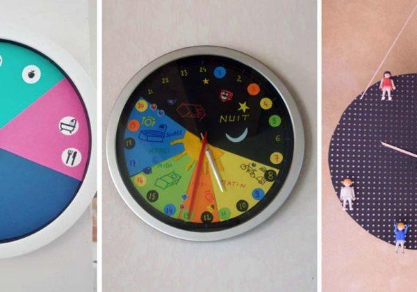Des Horloges De Routine Pour Se Reperer Dans Le Temps Montessori Enfant