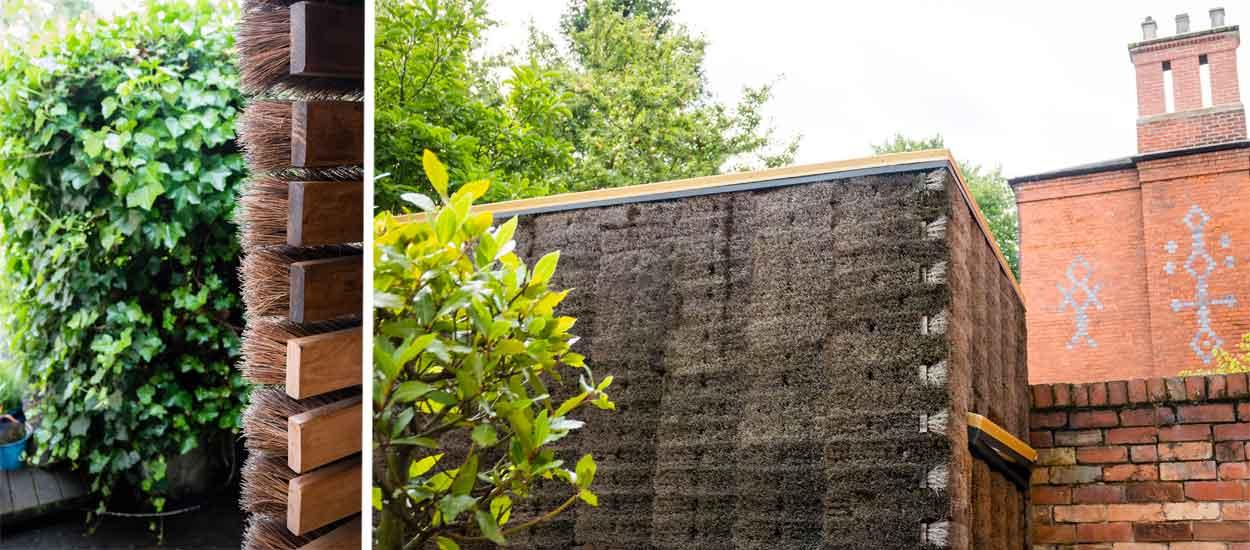 trouvez la porte secr te pour entrer dans ce dr le de bureau de jardin. Black Bedroom Furniture Sets. Home Design Ideas