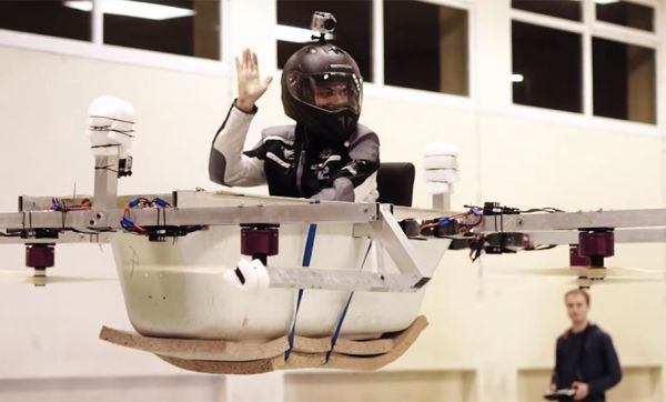Baignoire volante ou sous-marin : ces Youtubeurs de 20 ans bricolent des machines incroyables