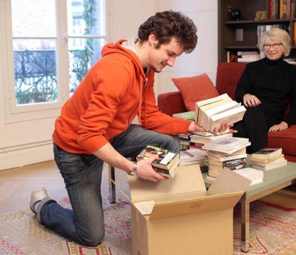 Ne jetez plus vos vieux livres, Recyclivre les collecte gratuitement chez vous
