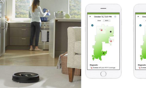 Ce robot aspirateur détecte les zones où il n'y a pas de Wi-Fi dans la maison