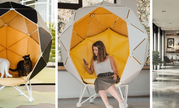 The Planet : un fauteuil cocon pour s'isoler du monde