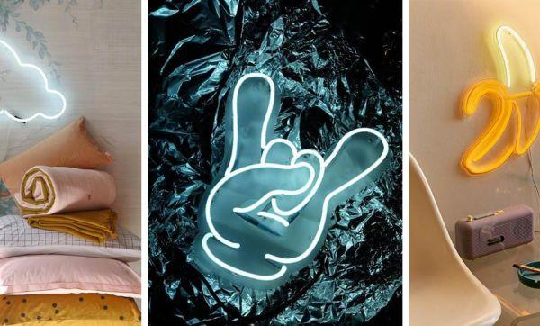 Déco : 26 idées fun et originales pour créer vos propres néons