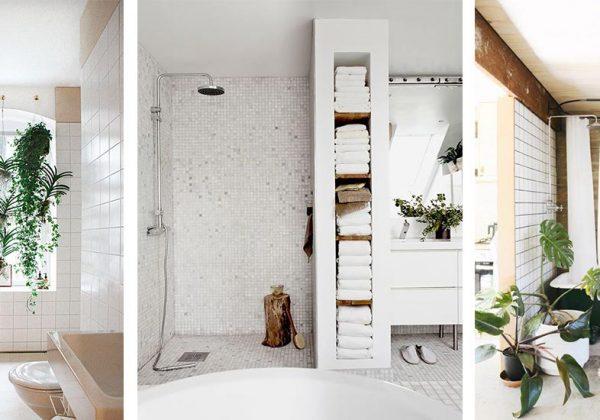 Idées déco repérées sur Pinterest pour une salle de bain zen
