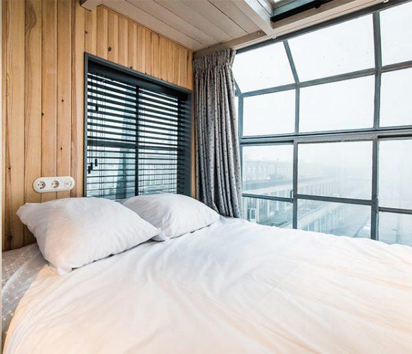Passez une nuit à Amsterdam dans cette grue reconvertie en appartement