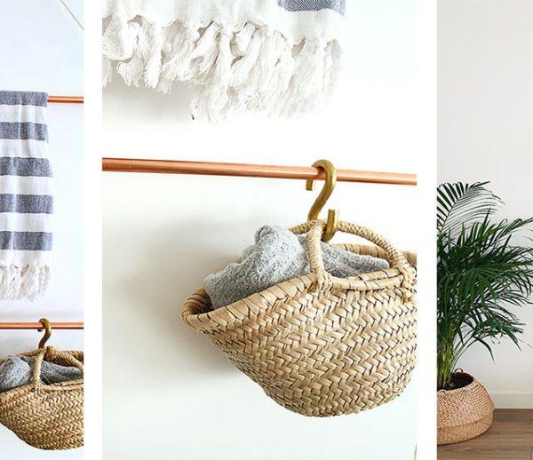 Tuto : Fabriquez votre propre porte-serviette en cuivre en un rien de temps !