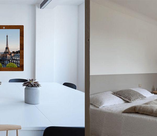 Profitez d'une vue imprenable sur New York ou la campagne avec cette fenêtre virtuelle