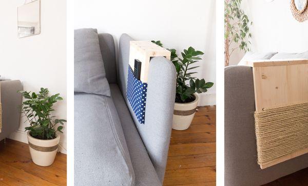 Tuto : Fabriquez un griffoir pour chat à positionner sur votre canapé