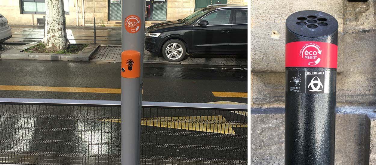 Objectif zéro mégot : Bordeaux installe des bornes-cendriers pour recycler les cigarettes