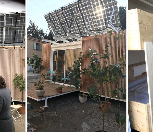 Emmaüs inaugure son premier logement d'urgence autonome en énergie