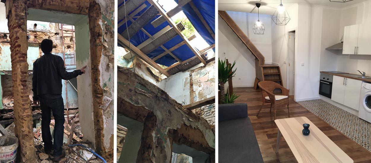 Avant / Après : ils ont rénové tout un immeuble en ruines pour 70 000 euros seulement