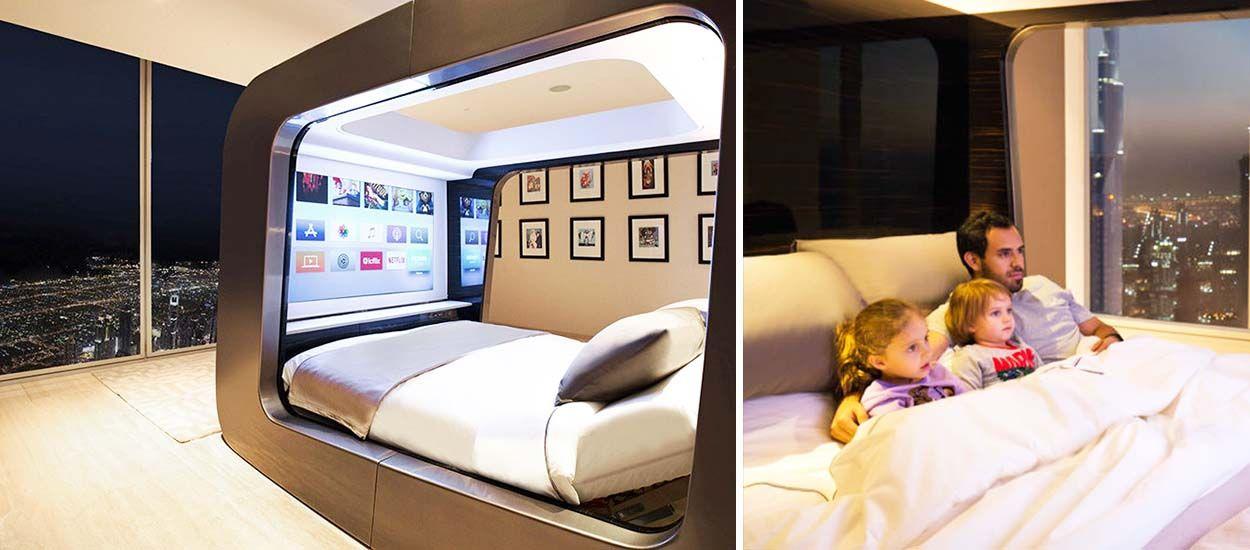 hican un lit salle de cin ma qui am liore votre sant. Black Bedroom Furniture Sets. Home Design Ideas