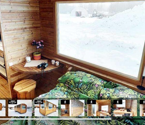 Visitez cette tiny house en 3D, comme si vous y étiez !