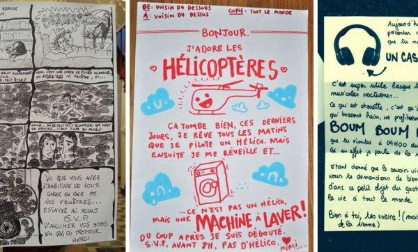 Les mots de voisins les plus drôles : ça passe mieux avec un dessin !