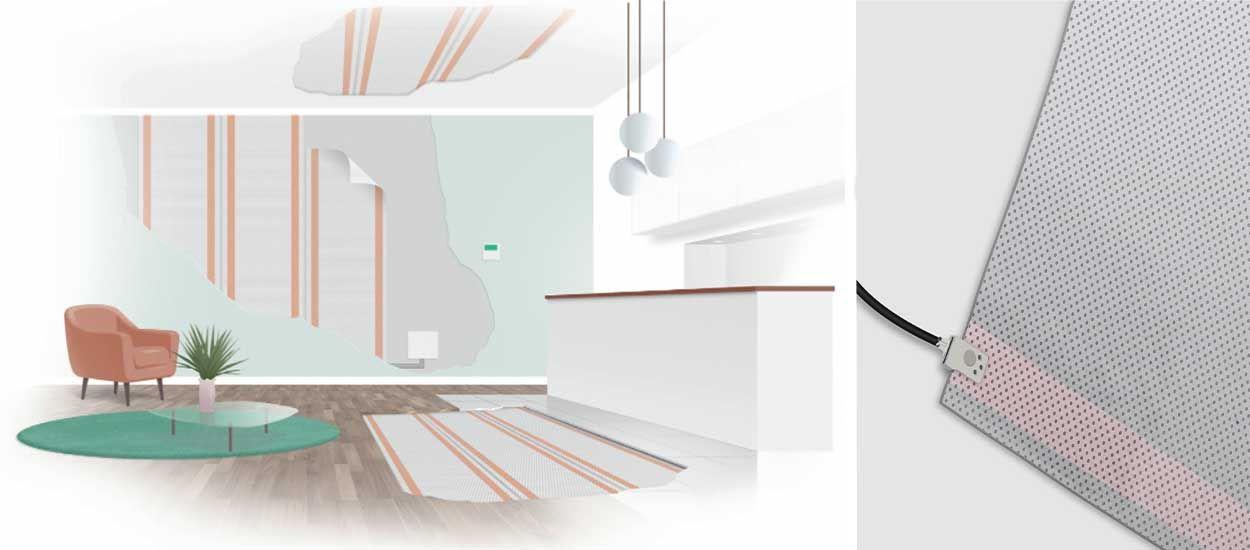 isolant sous papier peint fabulous acoustique poser une. Black Bedroom Furniture Sets. Home Design Ideas