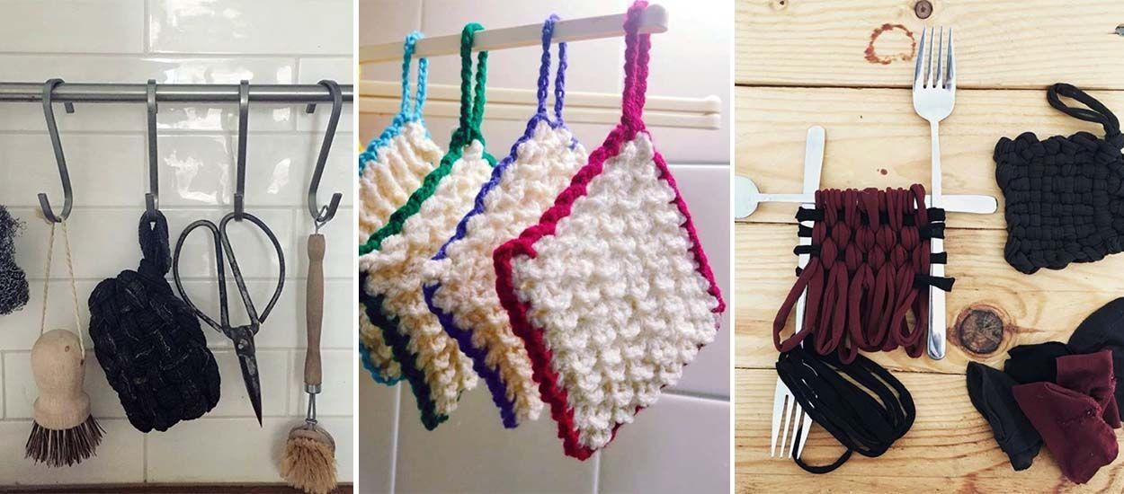 12 méthodes et idées pour fabriquer un tawashi, cette éponge écolo venue du Japon