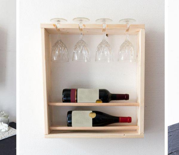 Tuto : Fabriquez un mini bar en bois pour 15 euros