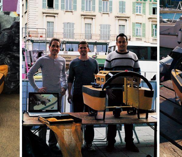 Ce petit robot se faufile entre les bateaux pour dépolluer le port de Marseille