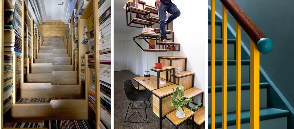 Du design au colimaçon : les plus belles inspirations d'escaliers