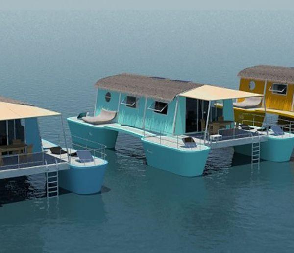 Construire une maison flottante la promiscuit sonore et for Construire une maison flottante