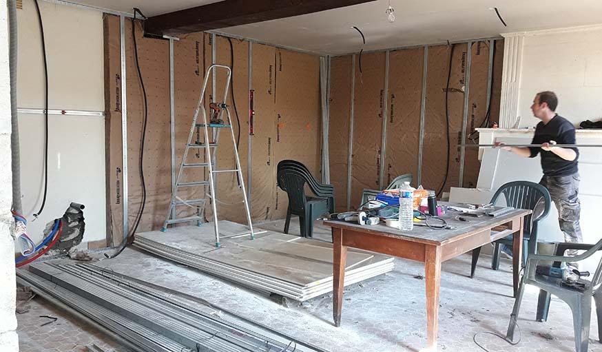 isolation maison ancienne par l intrieur free pertes de chaleur dune maison non isole h nallet. Black Bedroom Furniture Sets. Home Design Ideas