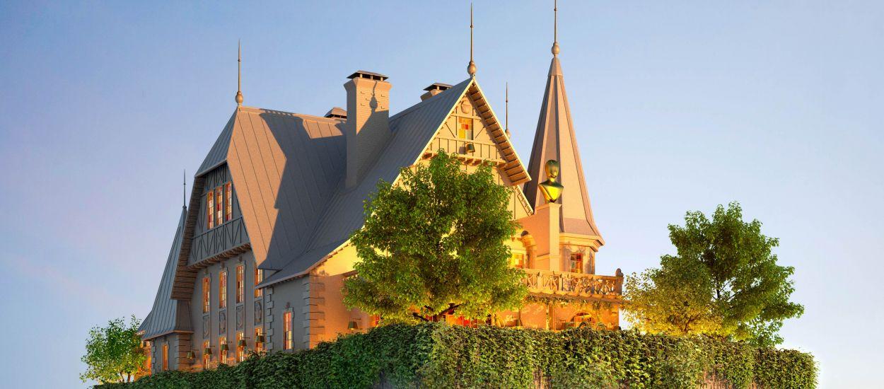 Le projet fou de Philippe Starck : une maison alsacienne perchée sur le toit d'un hôtel !