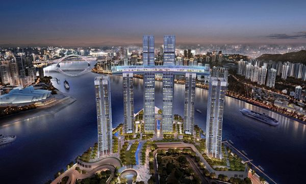 La dernière innovation en architecture ? Construire un gratte-ciel horizontal !