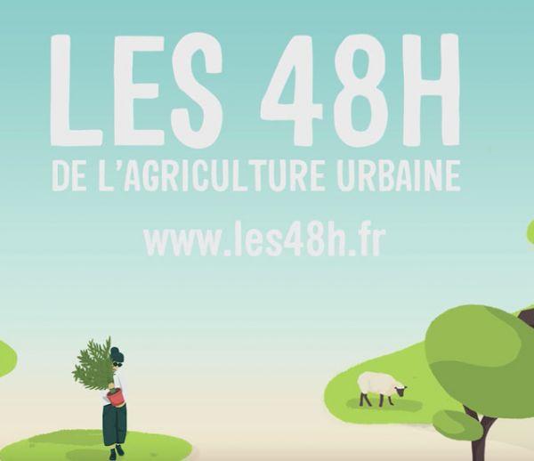 Participez au 48h de l'agriculture urbaine et végétalisez votre ville !