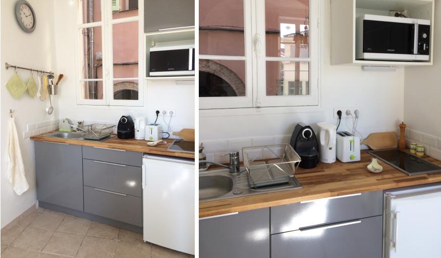 avant apr s r nover et r nover un appartement pour le louer l 39 t. Black Bedroom Furniture Sets. Home Design Ideas
