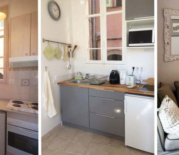 Avant / Après : Ce couple a entièrement rafraîchi cet appartement pour 5000 euros