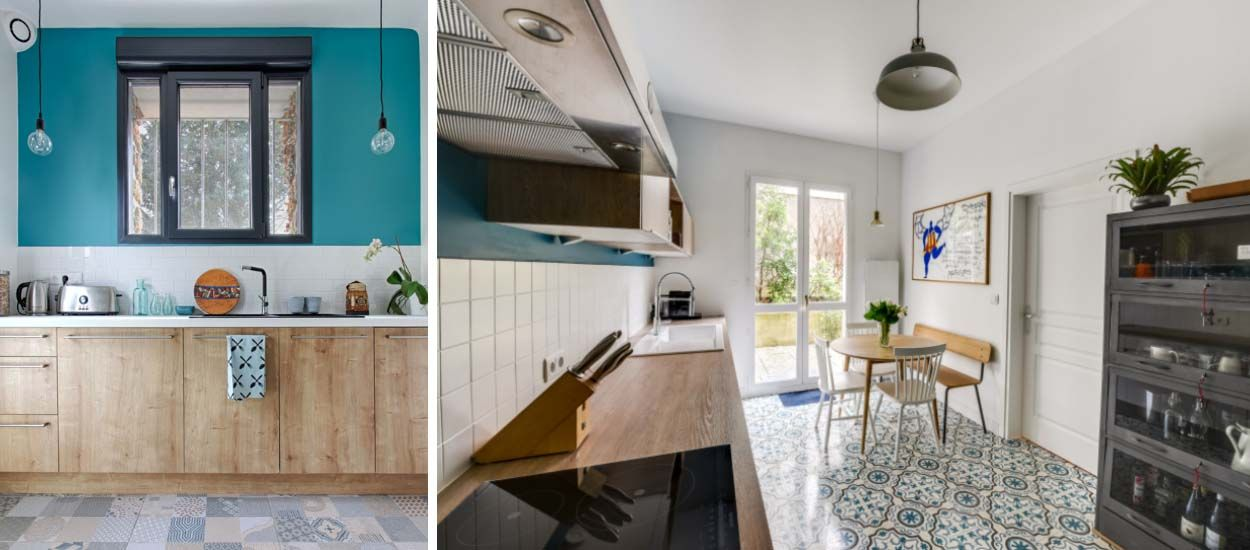 Inspirez-vous de ces deux avant / après pour aménager une cuisine ...