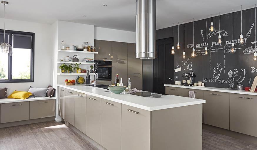 13 idées déco pour aménager une cuisine ouverte et familiale