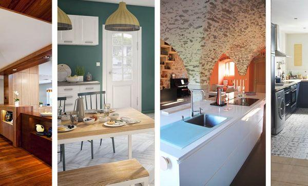 Inspiration déco : 13 idées à piquer dans ces cuisines conviviales