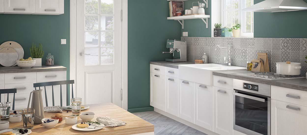 tendance 2018 am nager une cuisine ferm e pour plus de. Black Bedroom Furniture Sets. Home Design Ideas