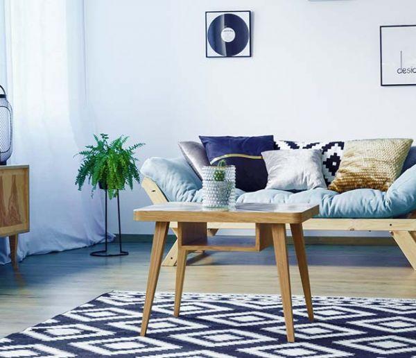 Cette astuce toute simple et gratuite élimine les marques de meubles sur votre tapis !