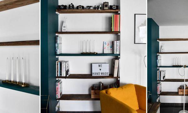 Tuto : fabriquez facilement une bibliothèque sans équerre pour gagner de la place !
