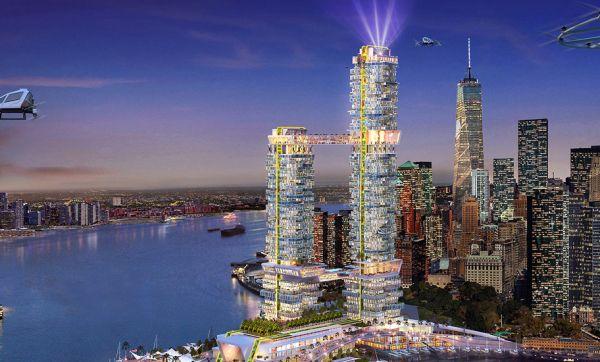 Ce projet de gratte-ciel à New-York prévoit des pistes d'atterrissage pour les drones