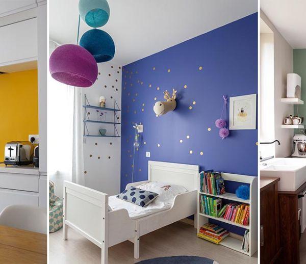 Inspiration déco : 11 murs colorés à découvrir d'urgence !